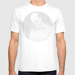 [De]generated ArcFace - Hunter S. Thompson T-shirt