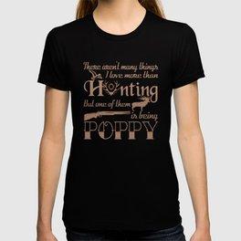 Hunting Poppy T-shirt