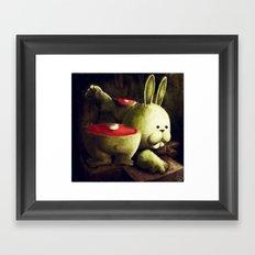 Outoftheblue Framed Art Print