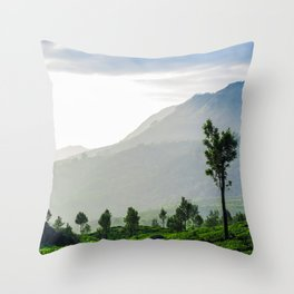 Tea Garden - 1 Throw Pillow