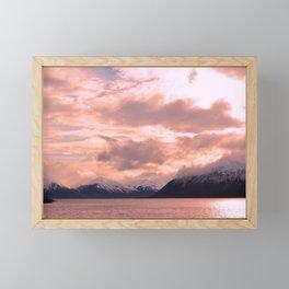 Rose Quartz Over Hope Valley Framed Mini Art Print