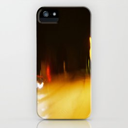 Yellow Lights iPhone Case