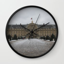 Hotel Des Invalides Wall Clock