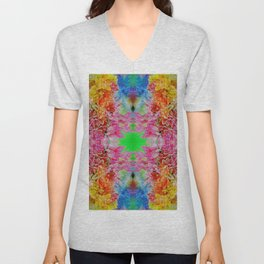 easter colors (for claire) Unisex V-Neck