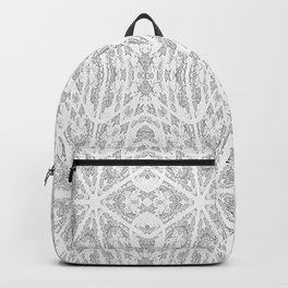Pattern Grey / Gray Backpack