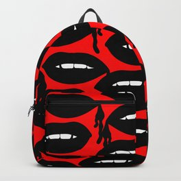 Bloody Lips in Red Backpack