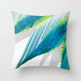The soaring flight of the agave Throw Pillow
