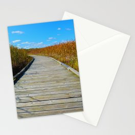 Point Pelee National Park Boardwalk in Leamington ON, Canada Stationery Cards