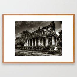 The Ruins of Angkor Wat Framed Art Print