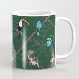 Crossed Branches Coffee Mug
