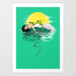 Sounds of Paradise Art Print