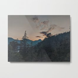 Squamish Sunset Metal Print