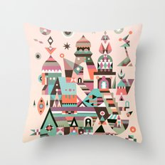 Structura 5 Throw Pillow
