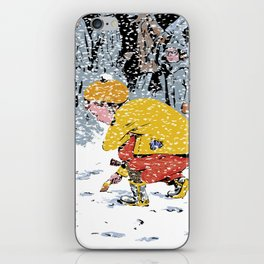 Lost Ticket iPhone Skin