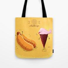 Food Challenge Tote Bag