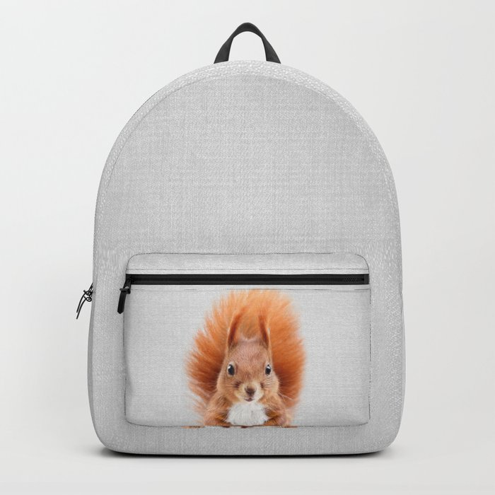 Squirrel 2 - Colorful Backpack