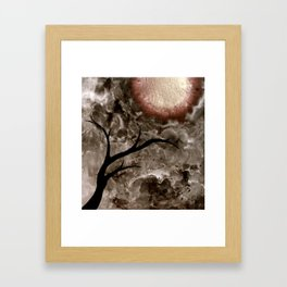 Beneath. Framed Art Print