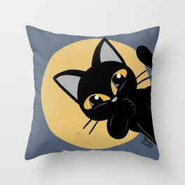 Hello everybody Throw Pillow