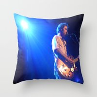 israel Throw Pillows featuring Israel Nebeker by S.R. Londer
