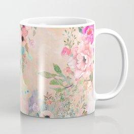 Botanical Fragrances in Blush Cloud Coffee Mug