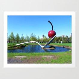 Spoonbridge and Cherry Art Print