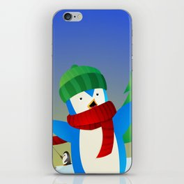 Snowy Pals iPhone Skin