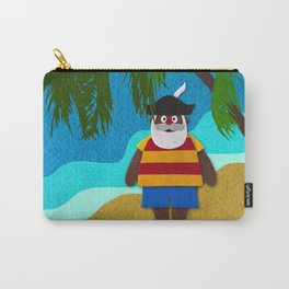 Funny Santa Claus! Carry-All Pouch
