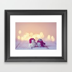 Happy Holidays, Christmas and Winter Photography Framed Art Print