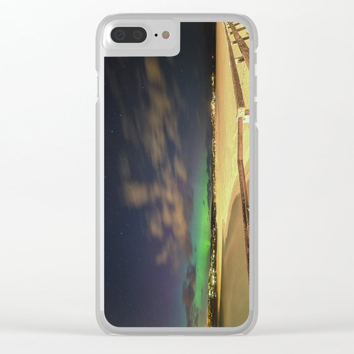 GHB Aurora on St Patrick's Day Clear iPhone Case