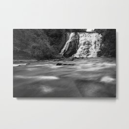 Rushing Waterfall Metal Print