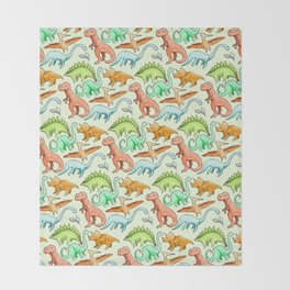 Dinosaur Skin Throw Blanket