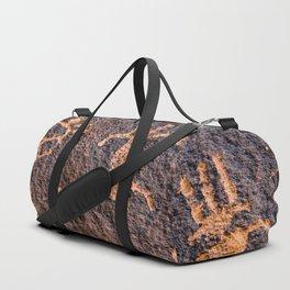 Desert Rock Art - Petroglyphs I Duffle Bag