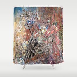 Uncommon Valor Shower Curtain