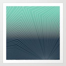 Projection Geox Art Print