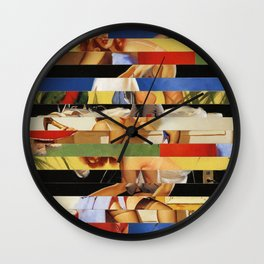 Glitch Pin-Up Redux: Jessica Wall Clock