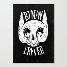 Bat skull Canvas Print