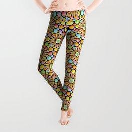 Candy Rainbow Mandala Leggings