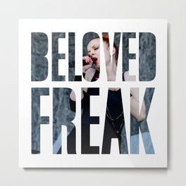 Garbage - 'Beloved Freak' Metal Print