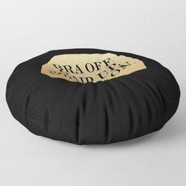 Bra Off Floor Pillow