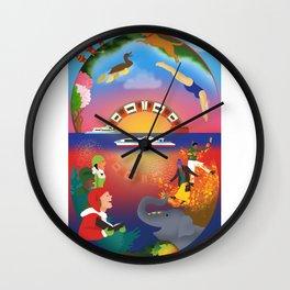 Round the clock Wall Clock