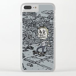 Manual pad Clear iPhone Case