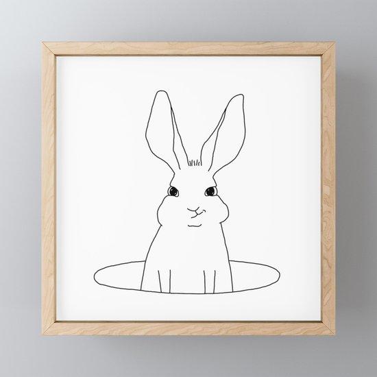 rabbit in a hole by johannakindvall