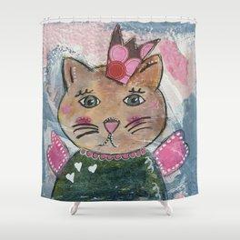 Gattina Shower Curtain