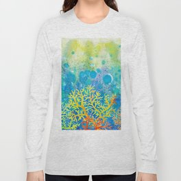 Underwater corals Long Sleeve T-shirt