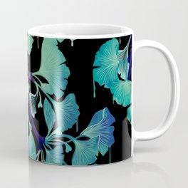 O Ginkgo (on Black) Coffee Mug