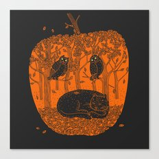 Pumpkin Story. Chapter 1 Canvas Print