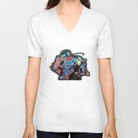 fullmetal V-neck T-shirts featuring Fullmetal Alchemist by lauramaahs
