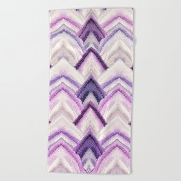 PARADISE PATTERN ULTRA VIOLET Beach Towel