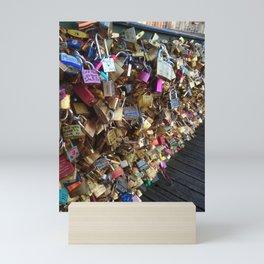 Love Locks in Paris Mini Art Print
