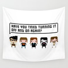 The IT Crowd Characters Wall Tapestry